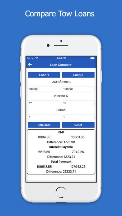 All Loans EMI Calculator screenshot four