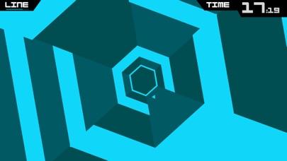 Super Hexagon screenshot1