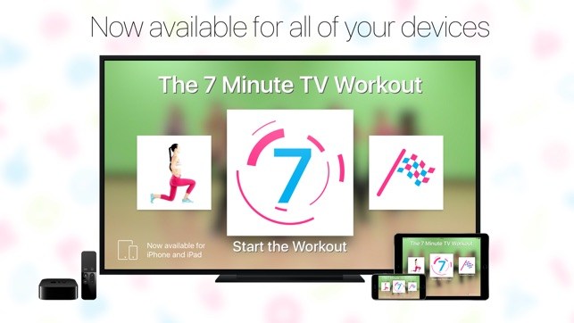 7 Minute TV Workout Screenshot