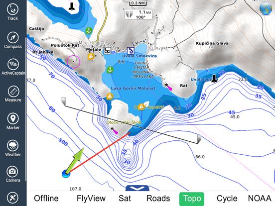 Croatia Nautical Charts HD GPS | App Price Drops