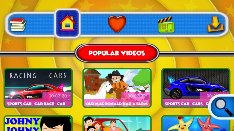 Kids ABC TV Nursery Rhymes screenshot-5