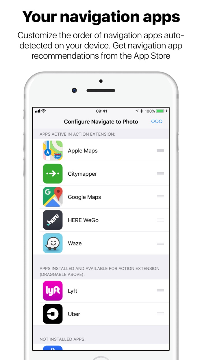 Navigate to Photo Screenshot