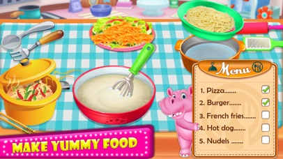 Little HIPPO - Cooking Chef screenshot 3