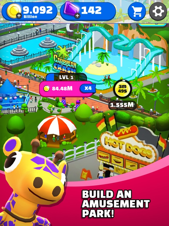 Click Park: Idle Building Game screenshot 7