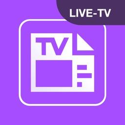 TV-Programm-App Fernsehprogramm Zeitung - Live-TV
