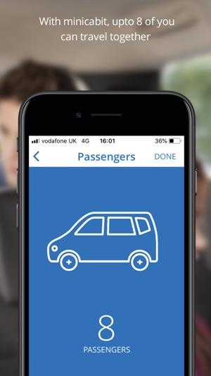 minicabit - UK wide taxi app trên App Store