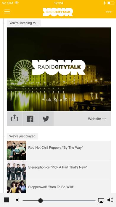 Radio City Liverpool screenshot four