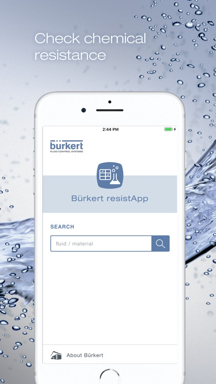 Bürkert resistApp screenshot-0