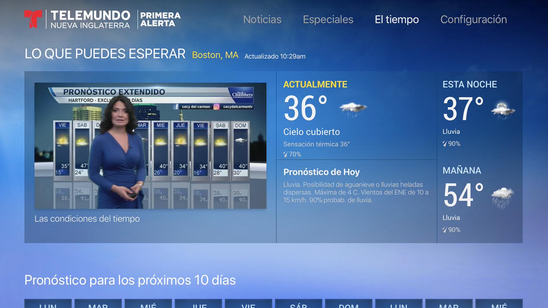 Telemundo Nueva Inglaterra screenshot 17