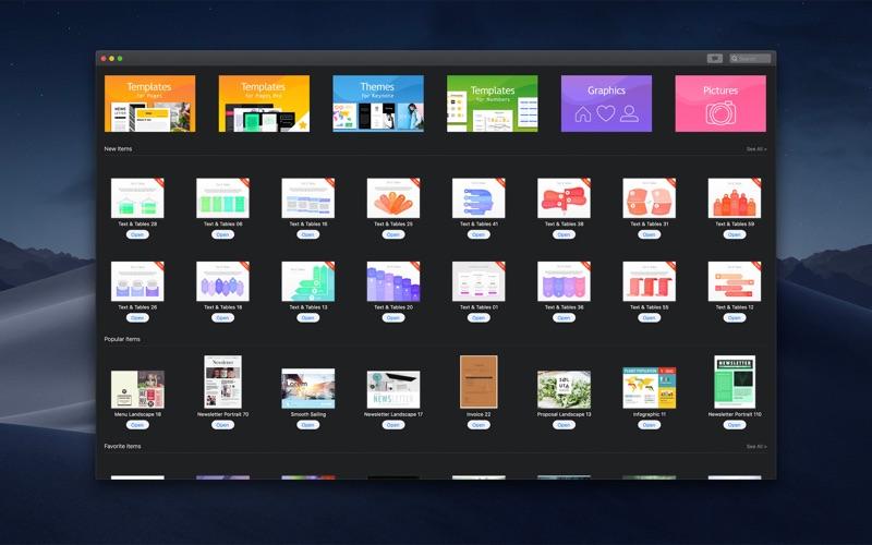 Bundle for iWork - GN Template Screenshots