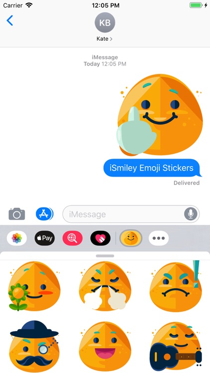 iSmiley Emoji Stickers screenshot-6