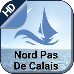 Nord Pas De Calais offline nautical fishing charts