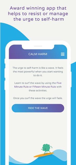 Calm Harm - manages self harm on the App Store