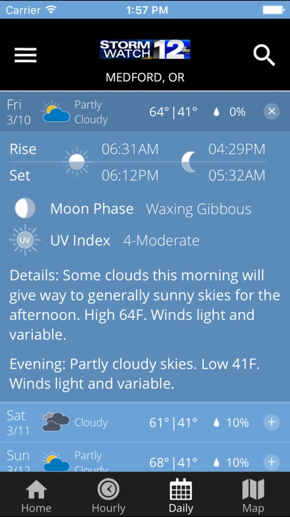 Stormwatch12 - KDRV Weather screenshot-3