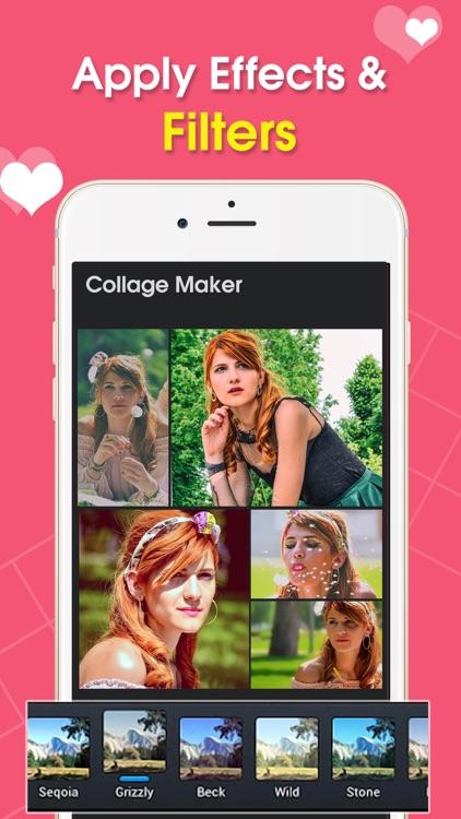 Photo collage maker & editor screenshot-3