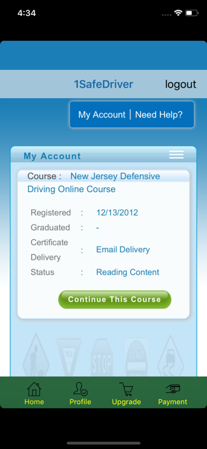 Online Defensive Driving Course Nj >> 1safedriver On The App Store