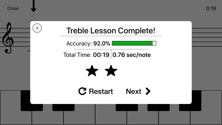 Notes - Sight Reading Trainer screenshot-7