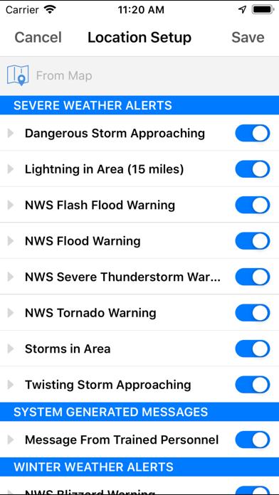 Wjla Stormwatch7 Weather review screenshots