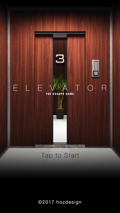 """Escape Game """"ELEVATOR"""""""