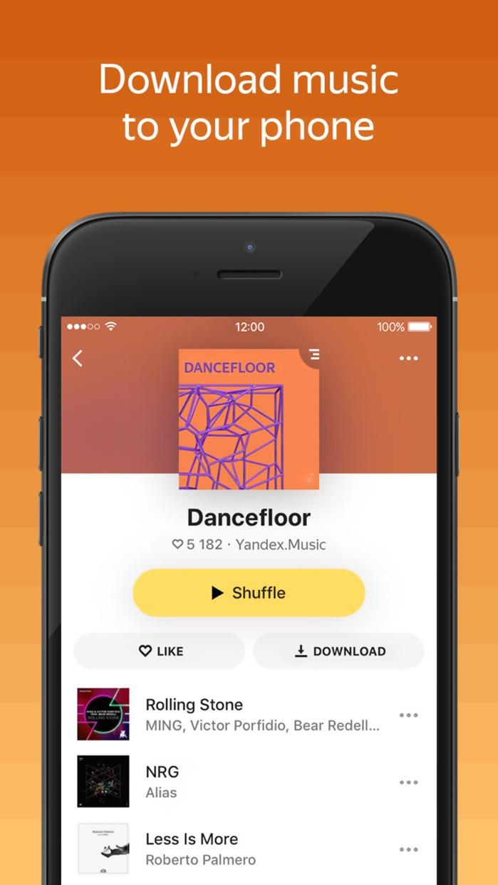 Yandex.Music Screenshot
