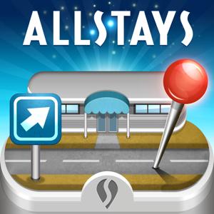 Rest Stops Plus app
