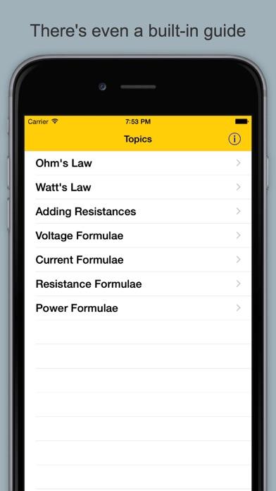 Ohm's Law Calculator & Guide screenshot four