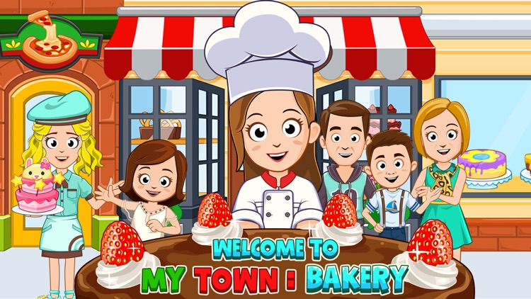 My Town : Bakery screenshot-0