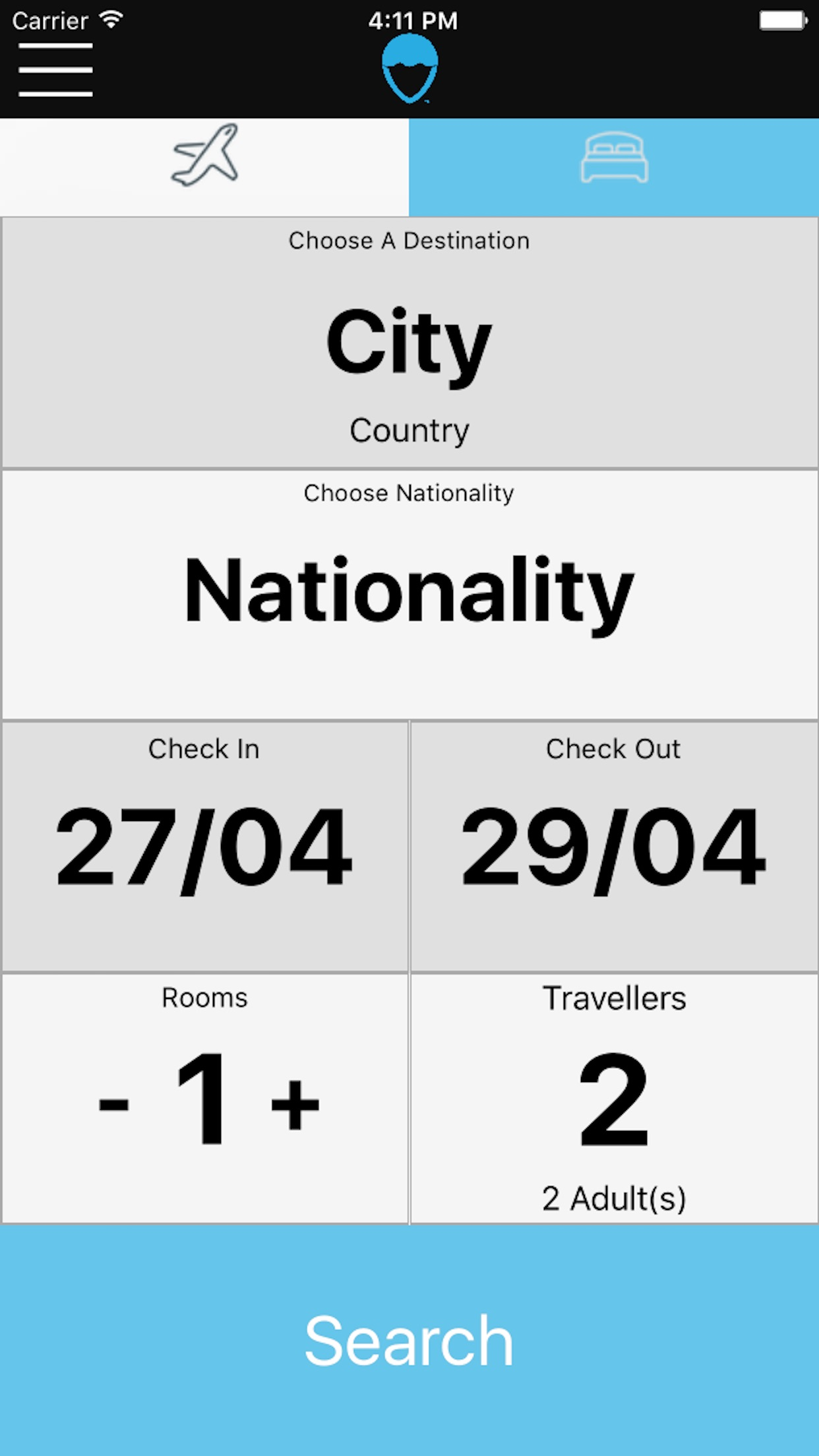 CityBookers Screenshot