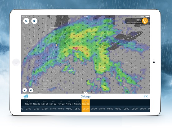 Ventusky Weather Maps IPA Cracked for iOS Free Download