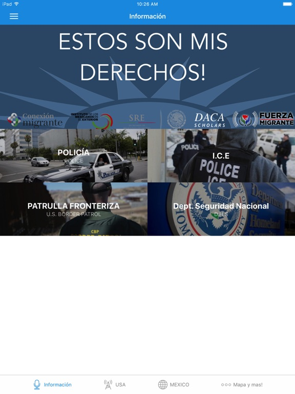 Derecho de Inmigrantes y Ayuda screenshot 4