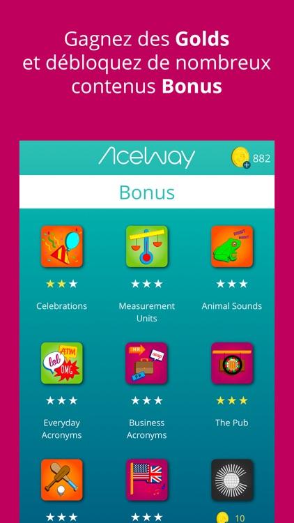 AceWay   Apprendre l'anglais screenshot-4