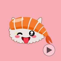 Dereshi - Sushi Emoji GIF