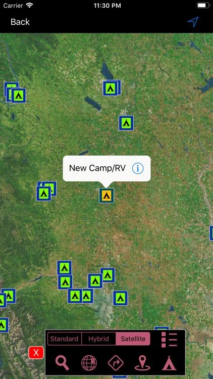 Alberta Campgrounds & RV's screenshot-3