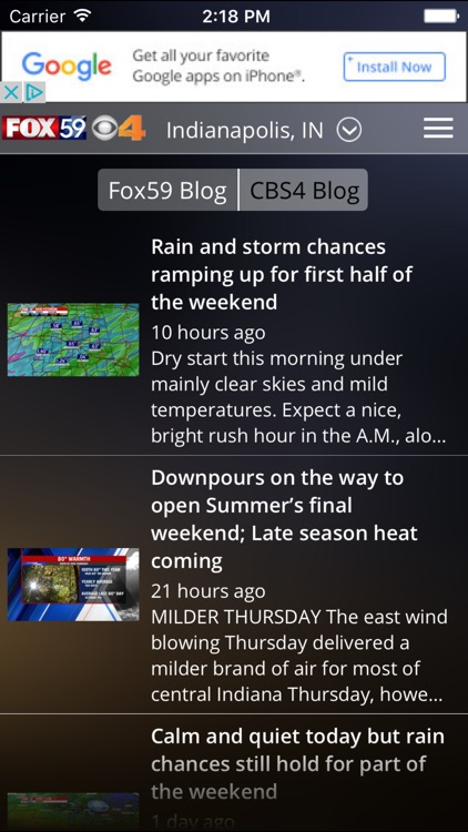 Indy Weather Authority screenshot-2