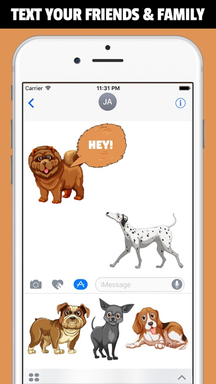 WOOFMOJI - New 2017 Dog Emoji Stickers App