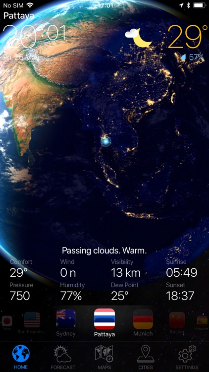 WEATHER NOW ° - radar & widget