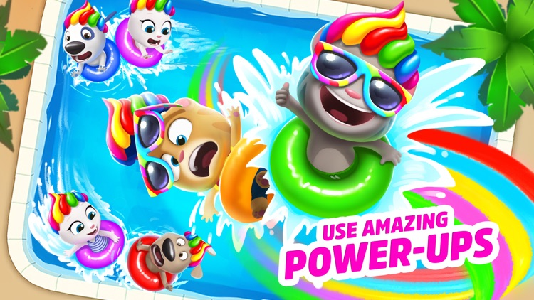 Talking Tom Pool - Puzzle Game screenshot-3