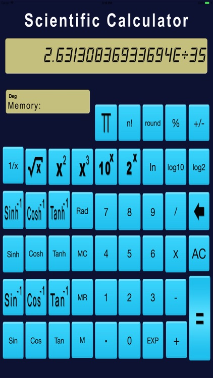 Real Scientific Calculator screenshot-4