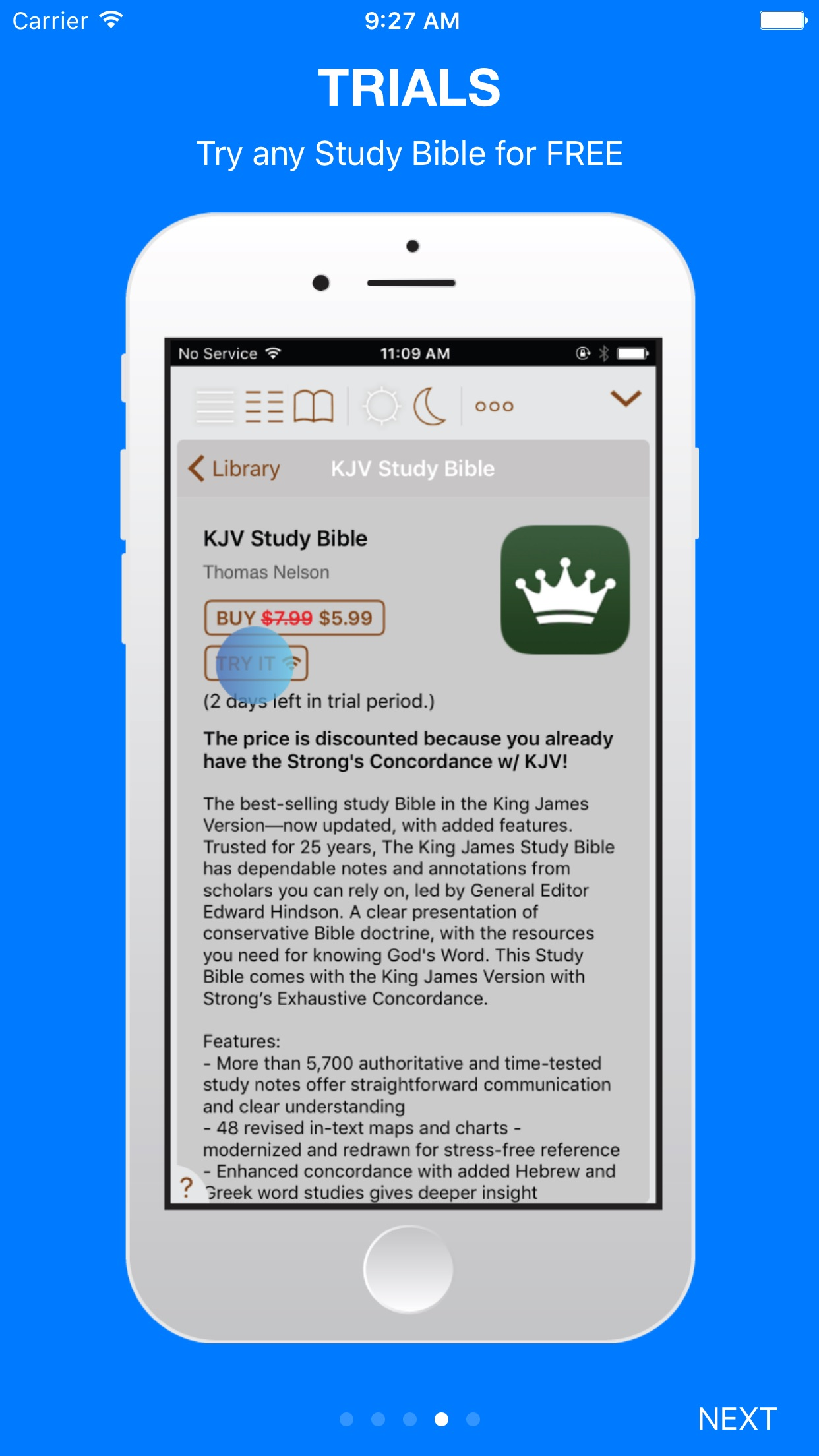 Tecarta Bible Screenshot