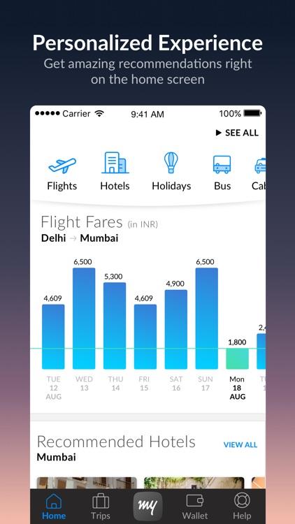 MakeMyTrip - Flight, Hotel