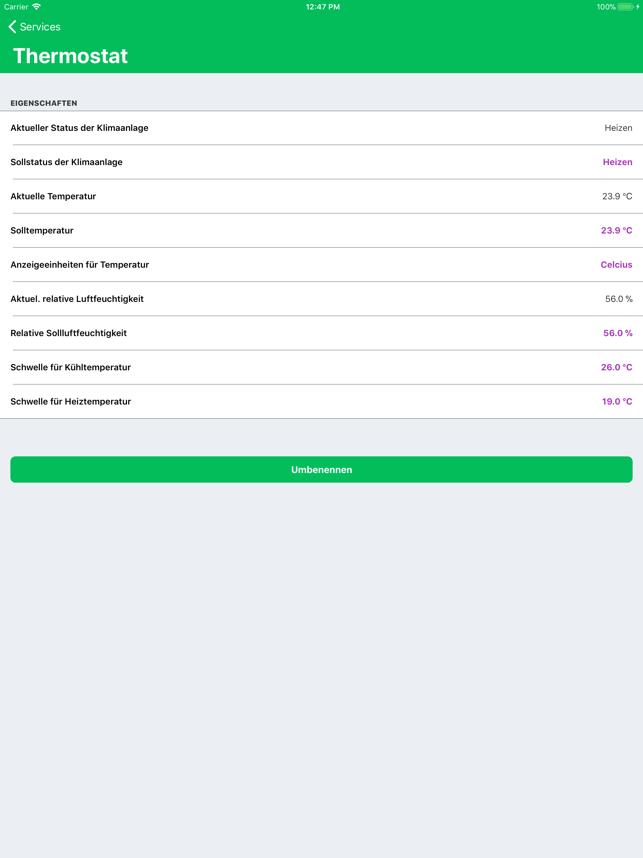 Controller für HomeKit Screenshot