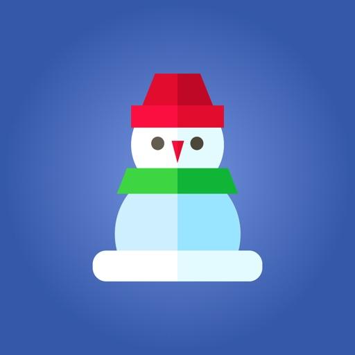 City Christmas Stickers icon