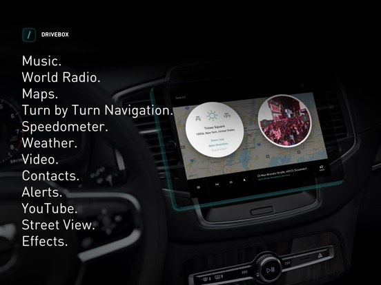 Drive Box · Copilot Navigation Screenshots