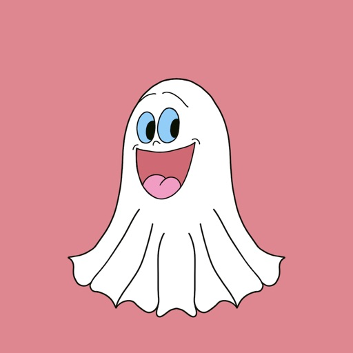 Cute Halloween Ghost stickers