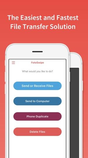FotoSwipe: File Phone Transfer on the App Store