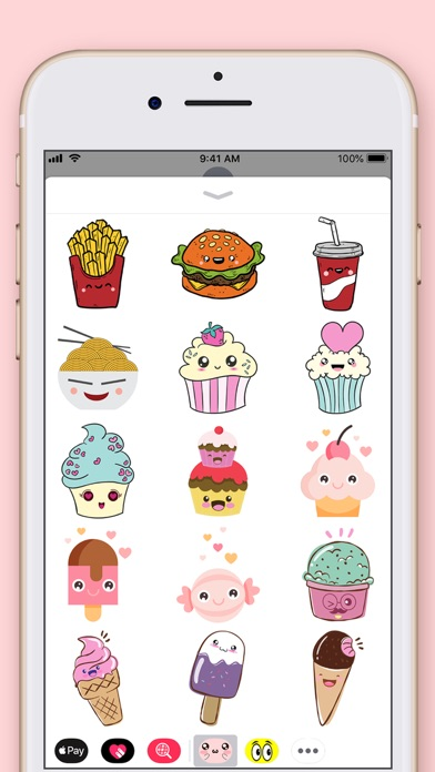 Cute Kawaii Stickers screenshot four