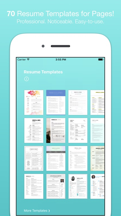 Resume Templates (for Pages)