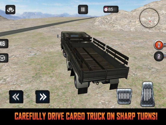 Mission Army Truck Driving screenshot 6