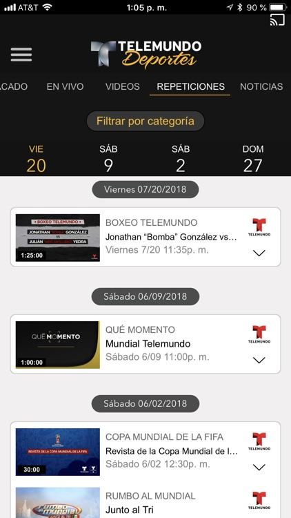 Telemundo Deportes - En Vivo screenshot-4
