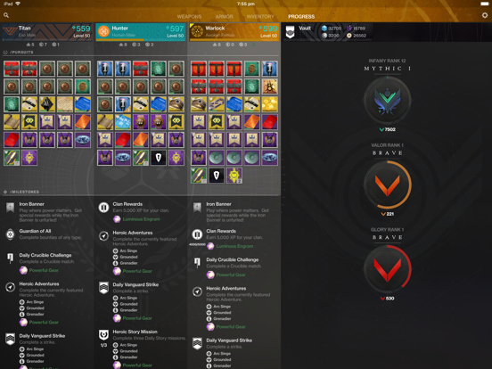 Ishtar Commander for Destiny 2 by Nigel Hietala (iOS, United